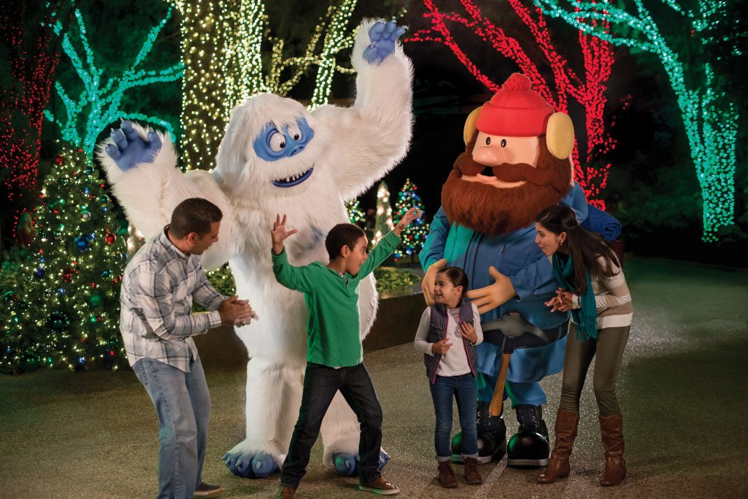 Christmas Town Returns To Busch Gardens In 2016 Featuring Rudolph The Red Nosed Reindeer
