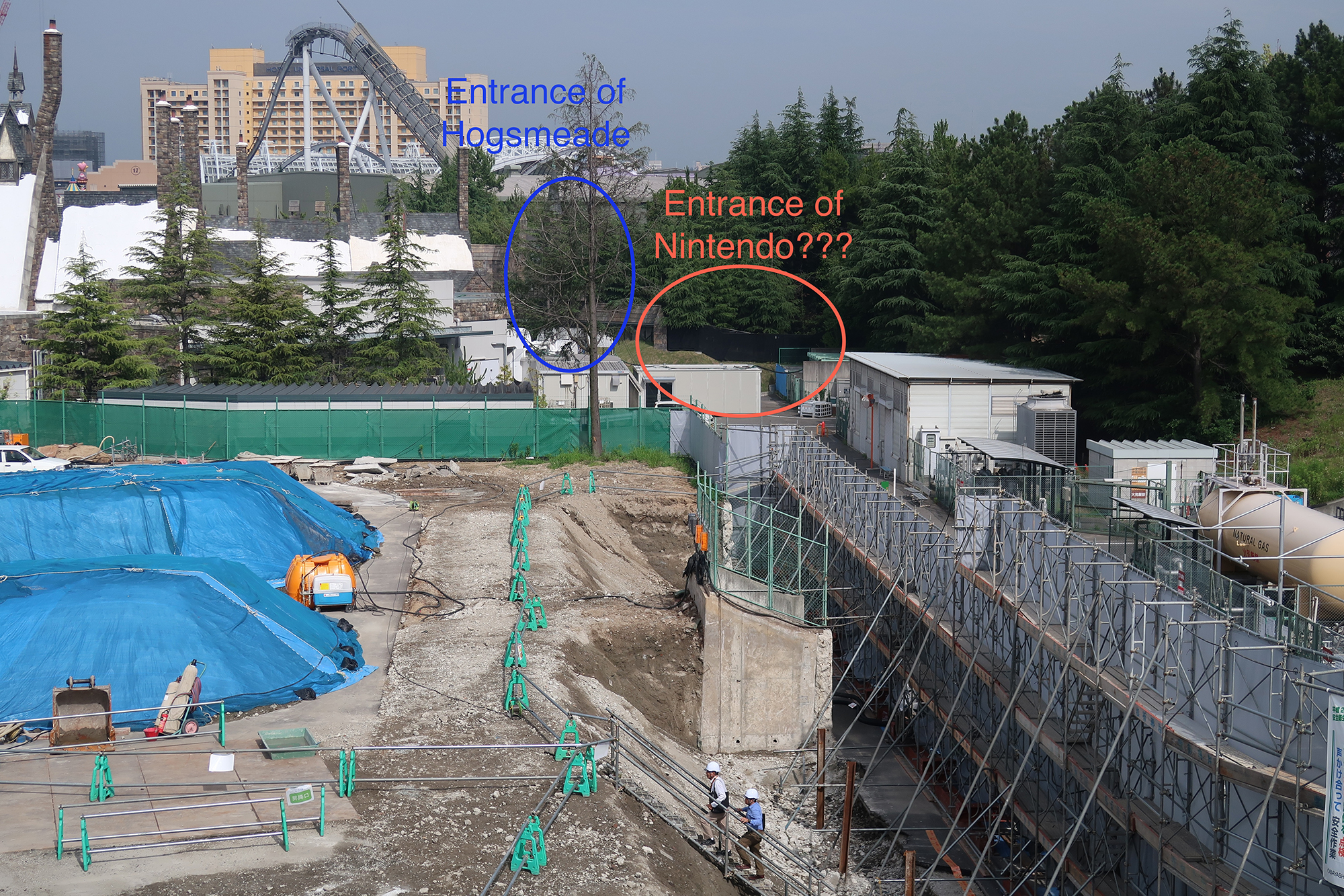 Super nintendo world construction underway at universal studios super nintendo world is set to open in 2020 right before the opening of the olympic games which will be held in tokyo publicscrutiny Choice Image