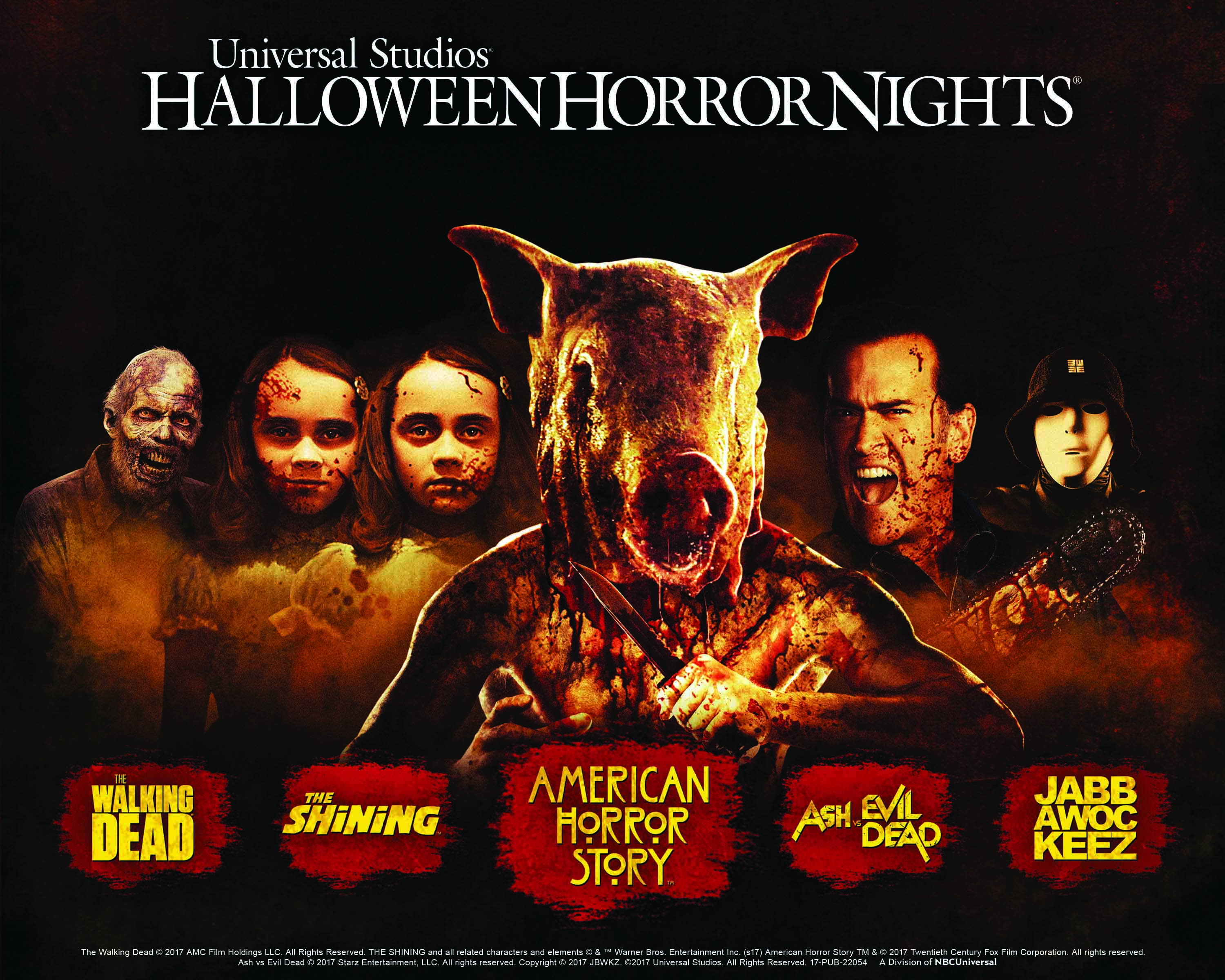 universal - Halloween Horror Nights Free Tickets