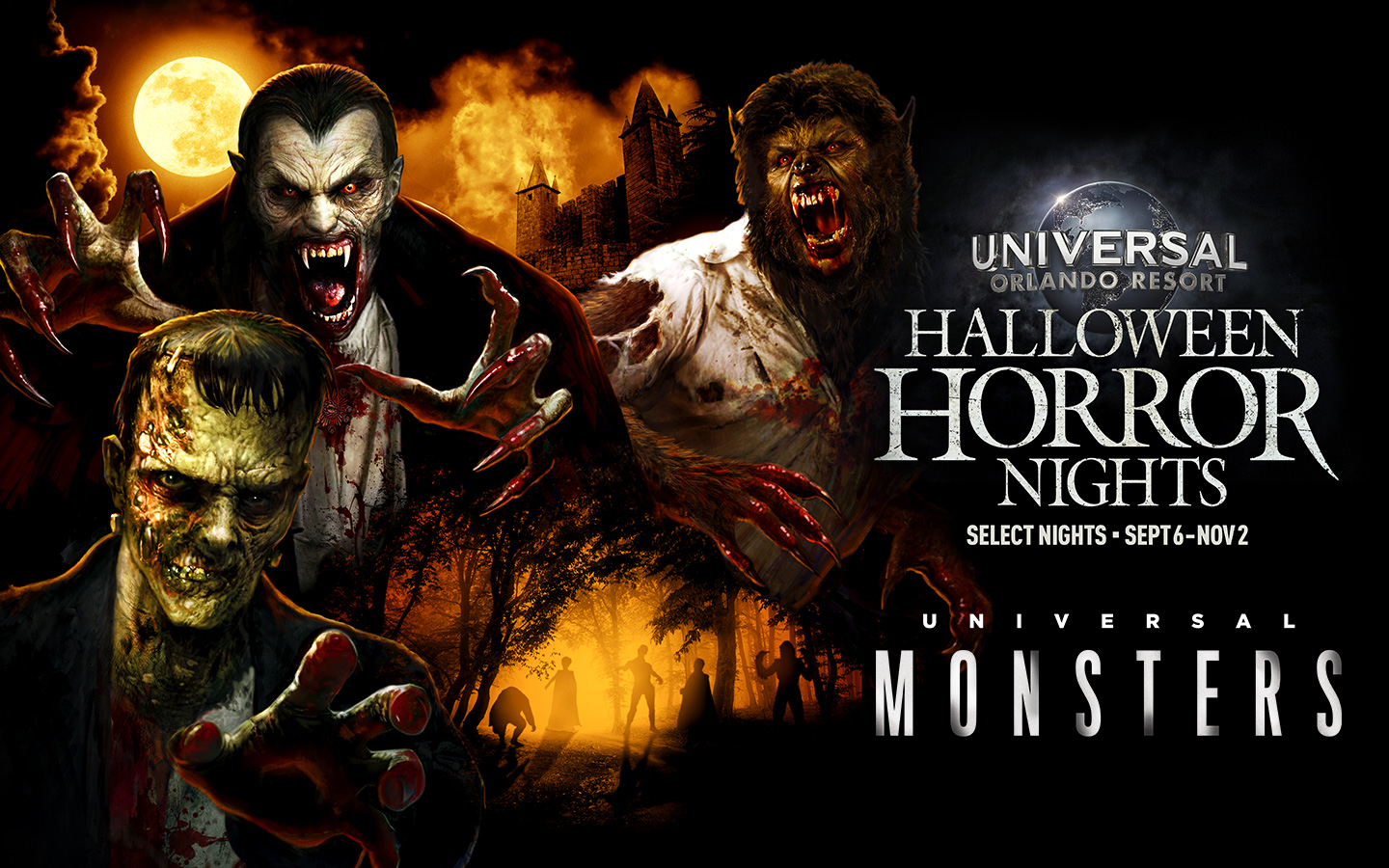 The Universal Monsters Are Coming To Halloween Horror Nights Inside Universal