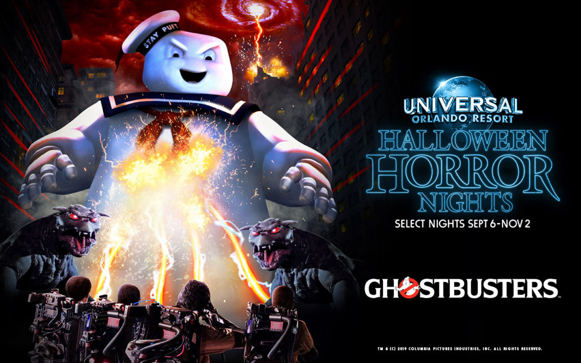 Halloween 2019.Ghostbusters Haunted House Announced For Halloween Horror Nights