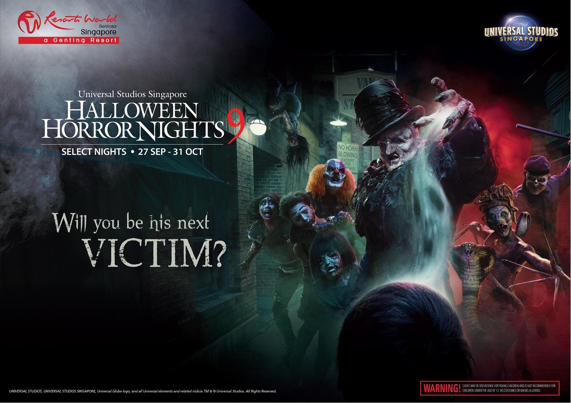Halloween Horror Nights 2020 Japan Universal Studios Singapore's Halloween Horror Nights returns for
