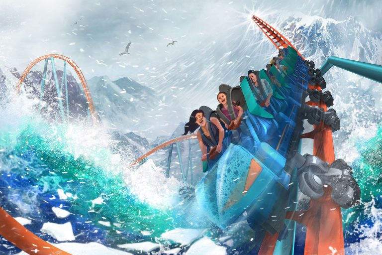 SeaWorld Orlando releases virtual POV of Ice Breaker, the new roller coaster opening in 2021