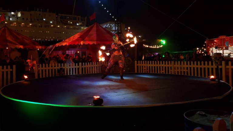 Queen Mary's Dark Harbor Celebrates 10 Years of Fear