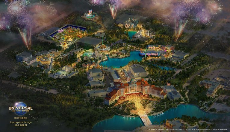 Universal Studios Beijing reveals 7 themed lands; set to open 2021