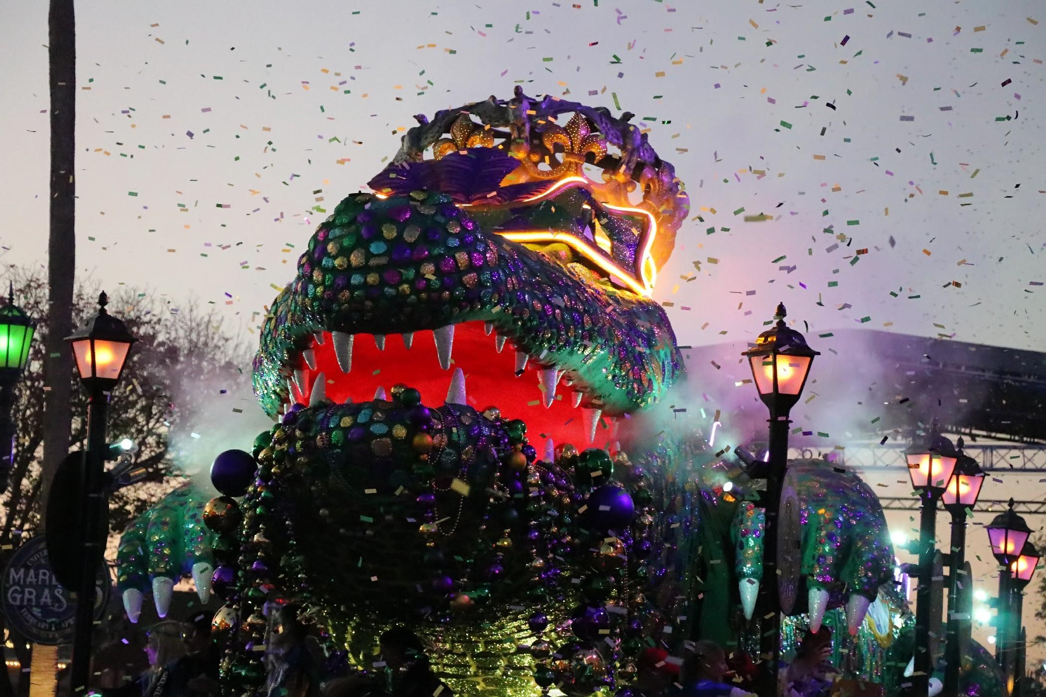 Hollywood Florida Kids Halloween Parade 2020 REVIEW: Mardi Gras 2020 at Universal Studios Florida   Inside