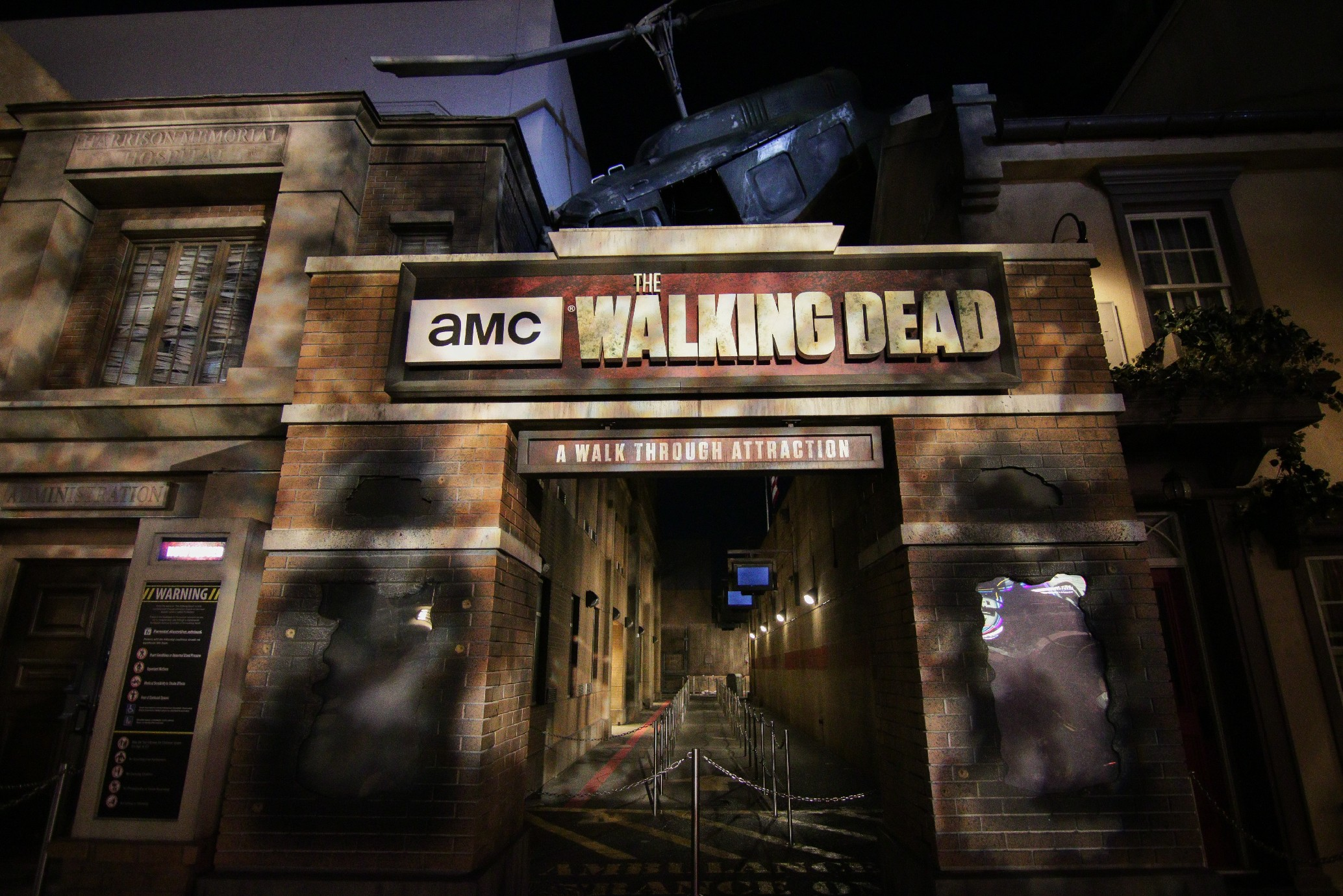 Halloween 2020 Amc Fullerton The Walking Dead Attraction closes at Universal Studios Hollywood