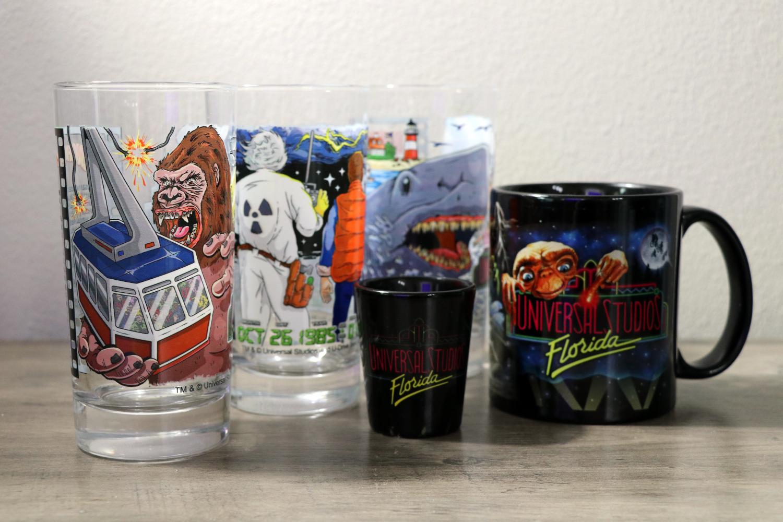 Universal Studios Florida 30th Anniversary Retro Coffee Mug ET King Kong Etc.
