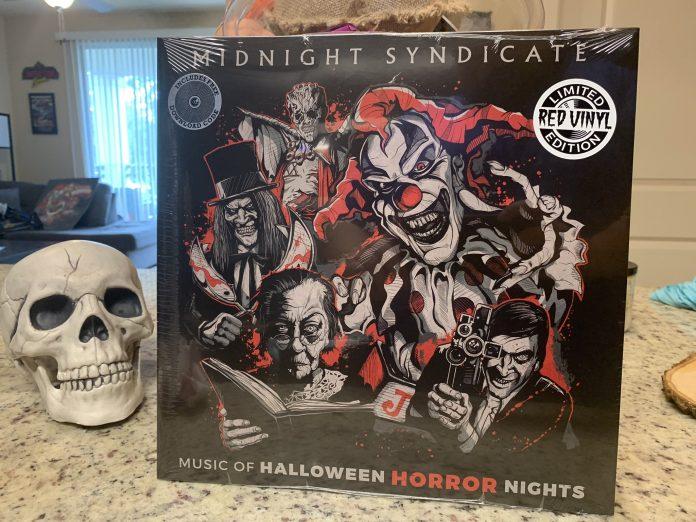 "Halloween Horror Nights 2020 Music Limited edition ""Music of Halloween Horror Nights"" vinyl album"