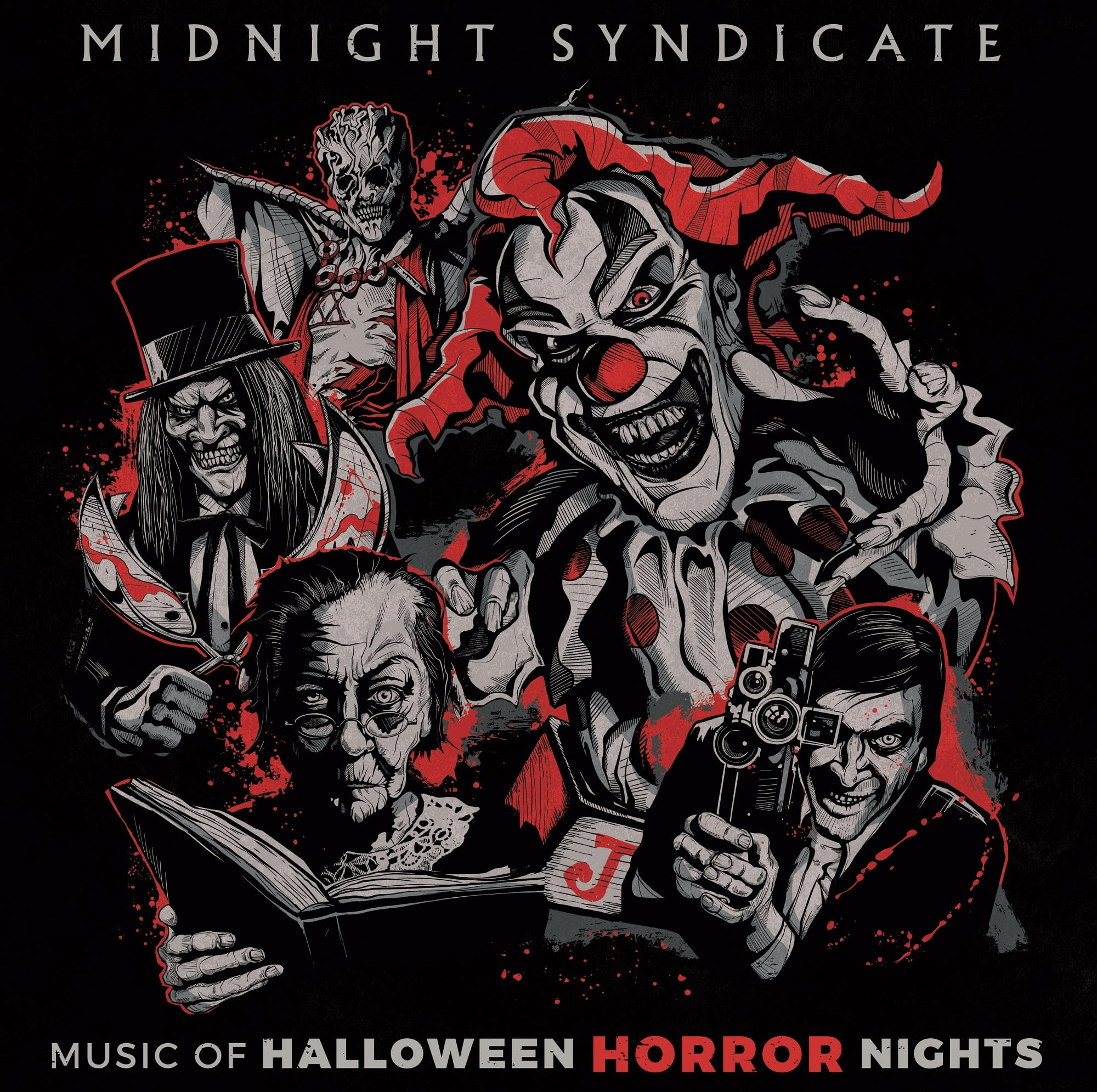 "Halloween 2020 Album Limited edition ""Music of Halloween Horror Nights"" vinyl album"