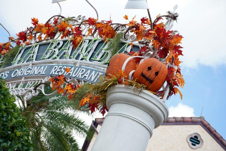 Setup underway at Universal Studios Florida for Halloween testing event