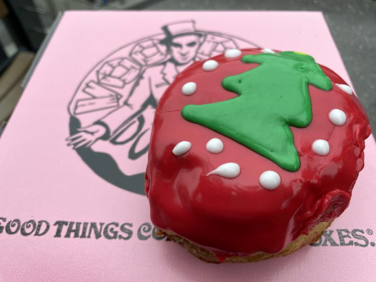 New Holiday Doughnuts released at Voodoo Doughnut at CityWalk Orlando